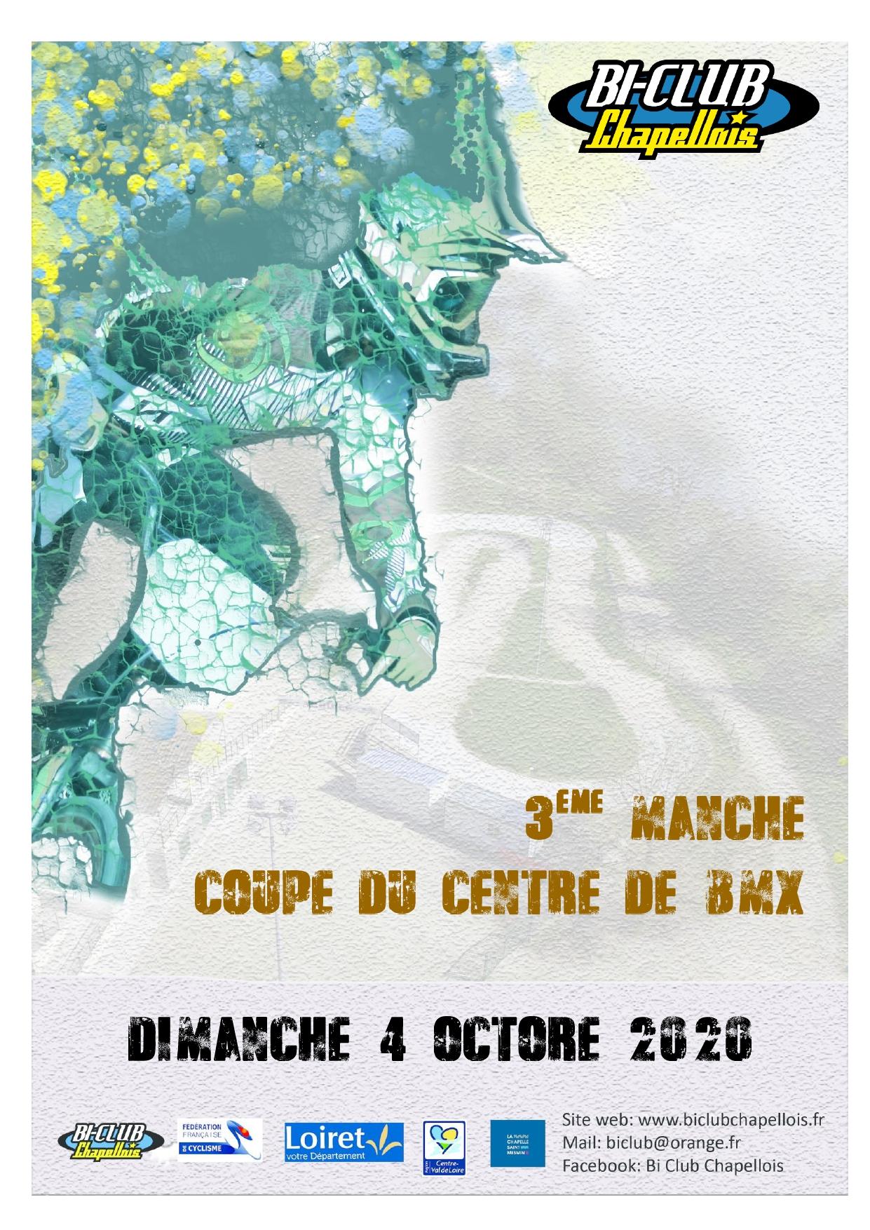 Affiche Coupe du centre La Chapelle
