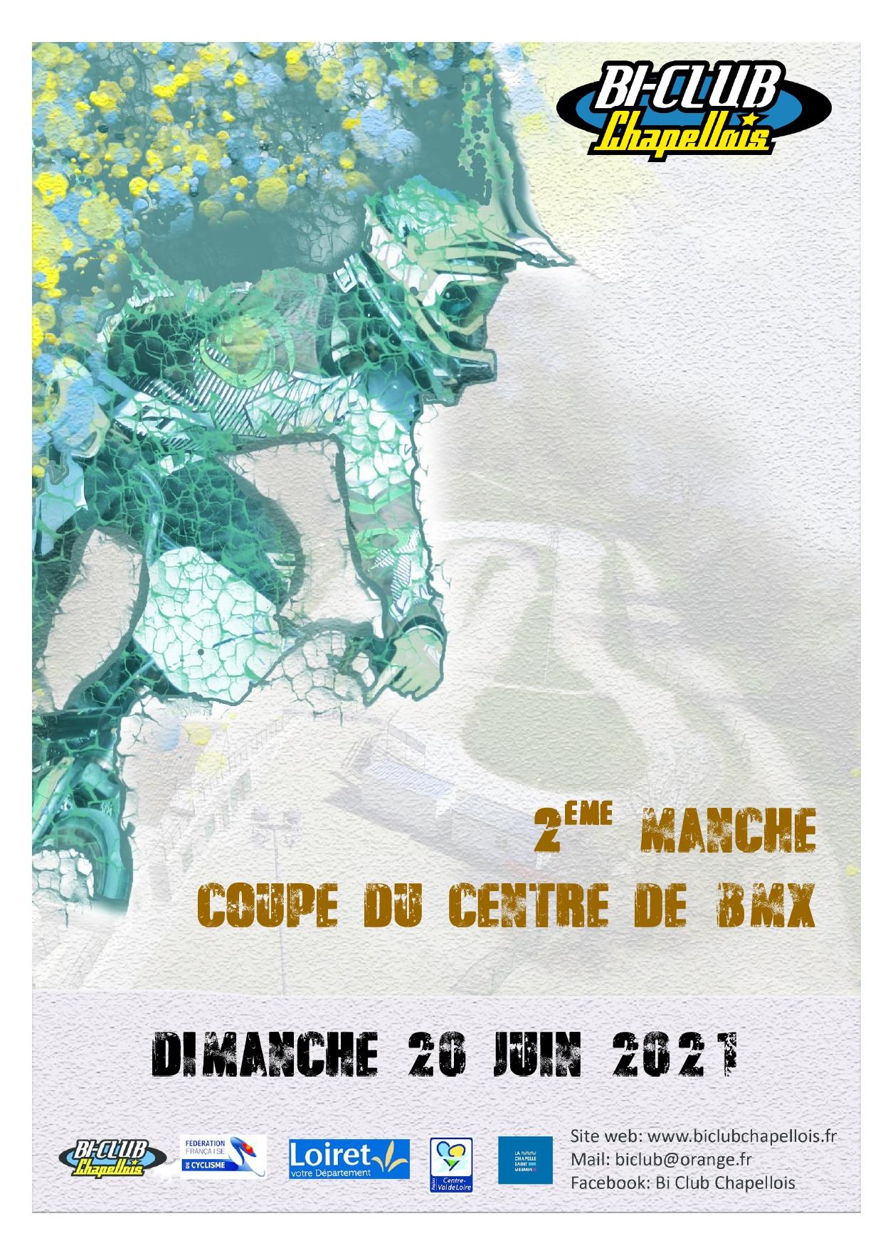Affiche Coupe du centre 20 juin