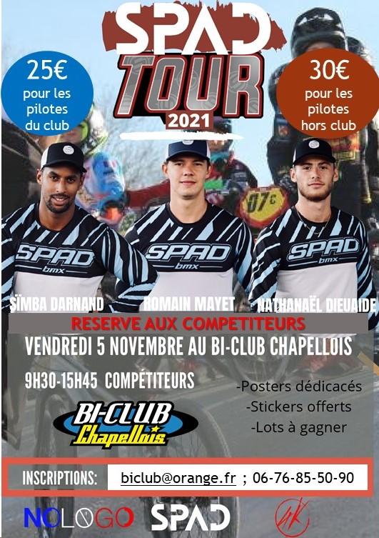 Affiche Spad Tour - Copie